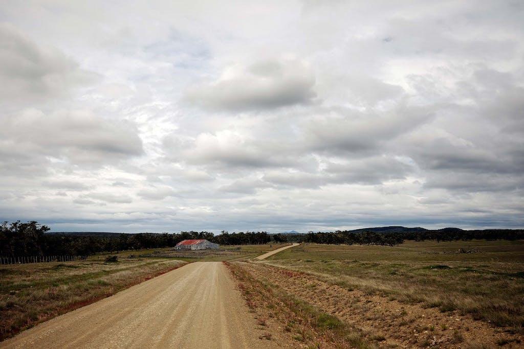 Estancias, or sheep farms, are found across the Patagonia grasslands.