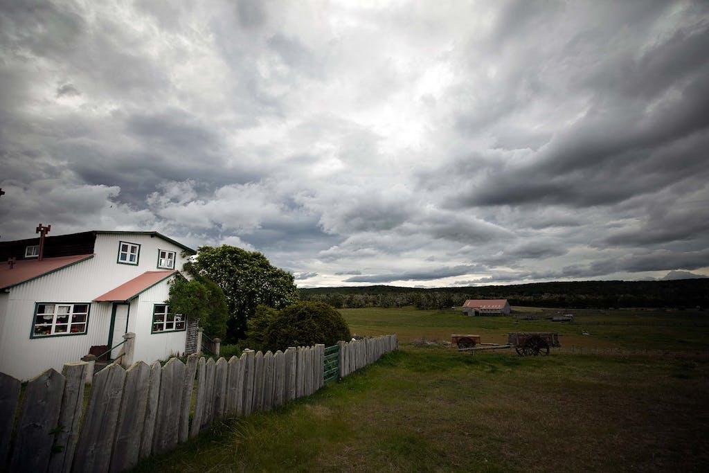 Estancias are part of Patagonia sheep farming history.