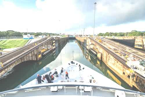 Silversea Panama Canal Crossing