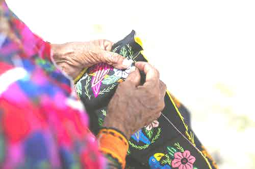 Colorful Textures - San Blas Islands