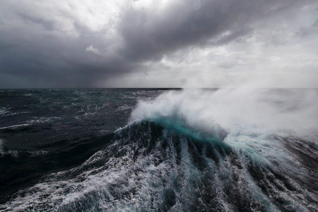 Drake Passage wave height