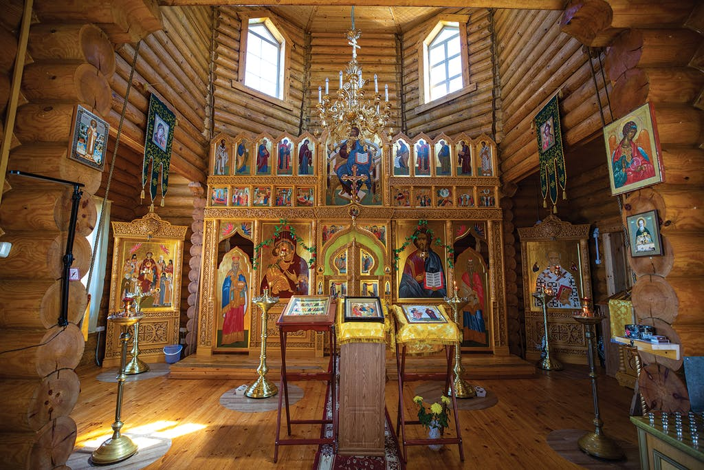 Guests aboard Silversea Russian Far East Cruise can enjoy the rural churches of the region