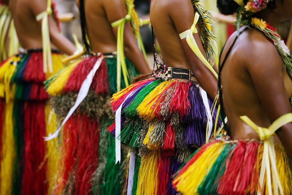 Yap Island traditional dress