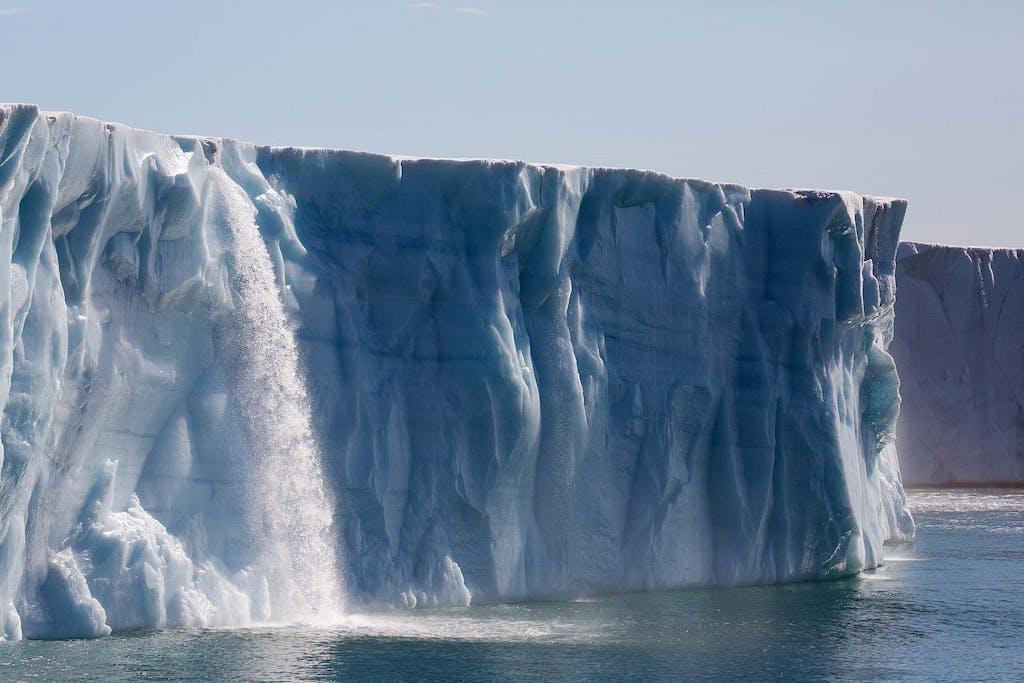 The Brasvellbreen Glacier
