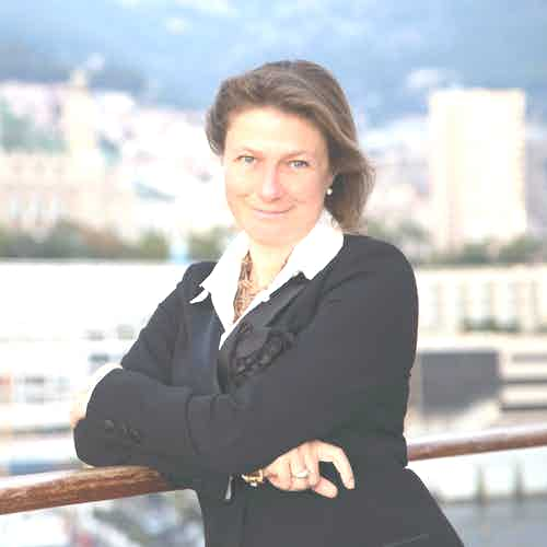 Barbara Muckermann Corporate Portrait, Monaco, Silversea Chief Marketing Officer