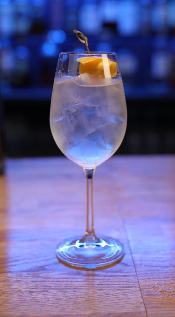 Lemon City cocktail detail