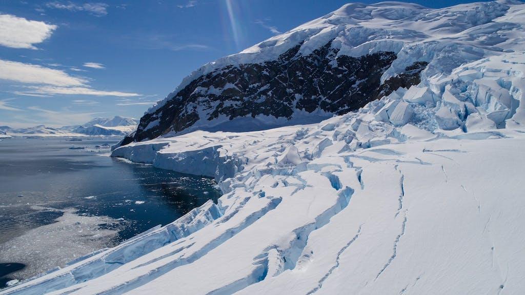 Glaciers in Neko Harbour