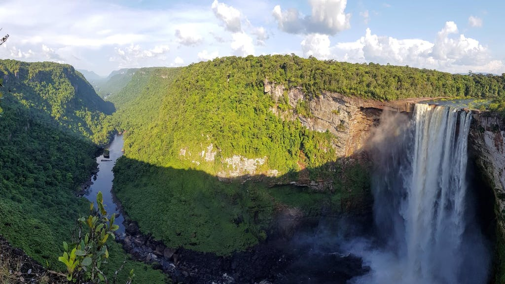 Kaieteur Falls in Surinam