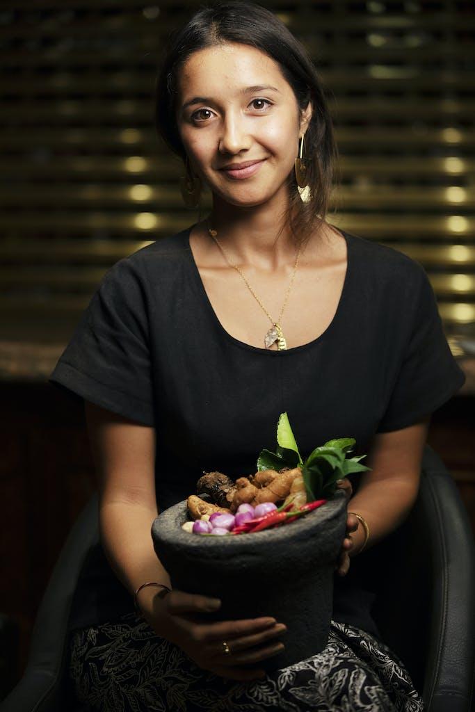 Balinese-Australian food writer Maya Kerthyasa