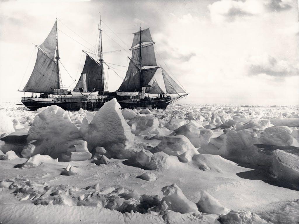 Ernest Shackleton's Endurance ship