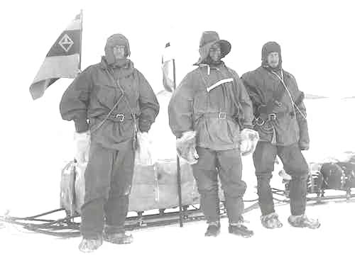 Ernest Shackleton's Balaclava