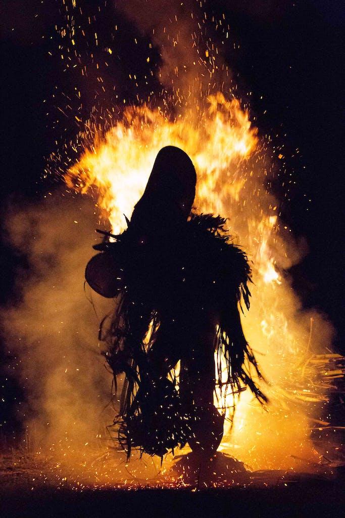The Baining fire dancers of Papua New Guinea