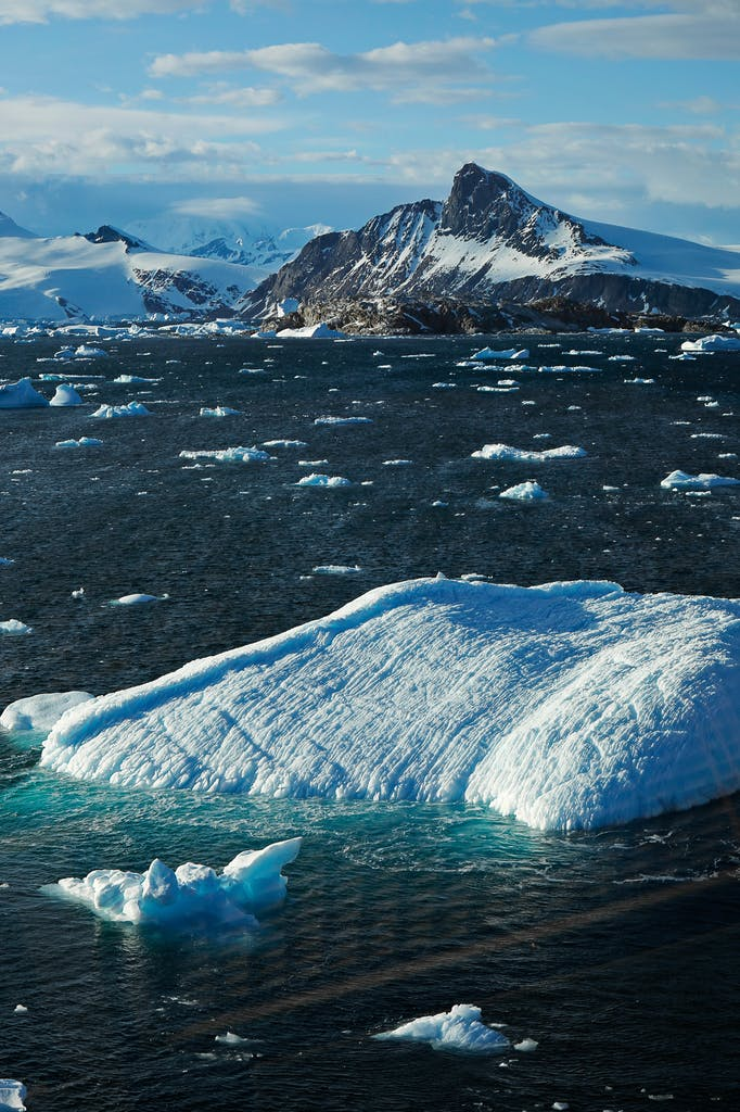 The beautiful landscapes of Antarctica