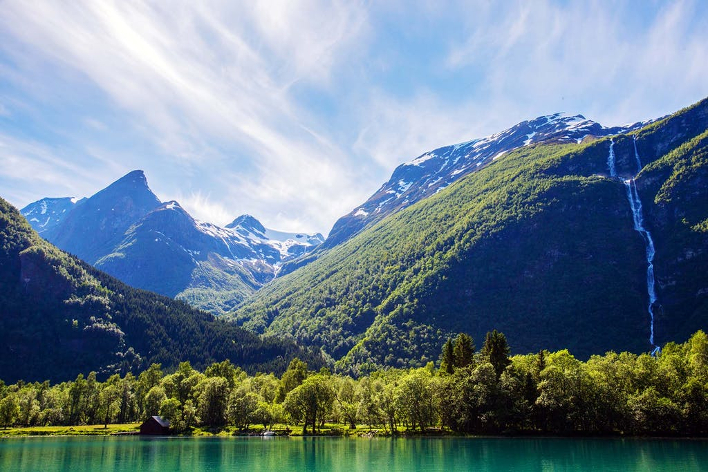 The fjords or Norway
