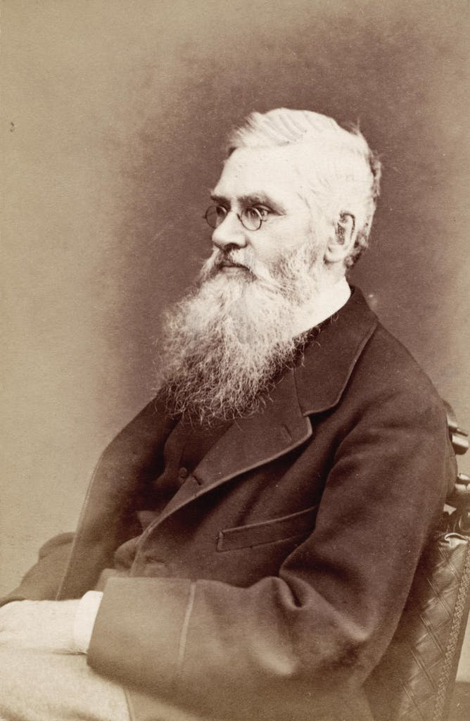 British explorer Alfred Russel Wallace