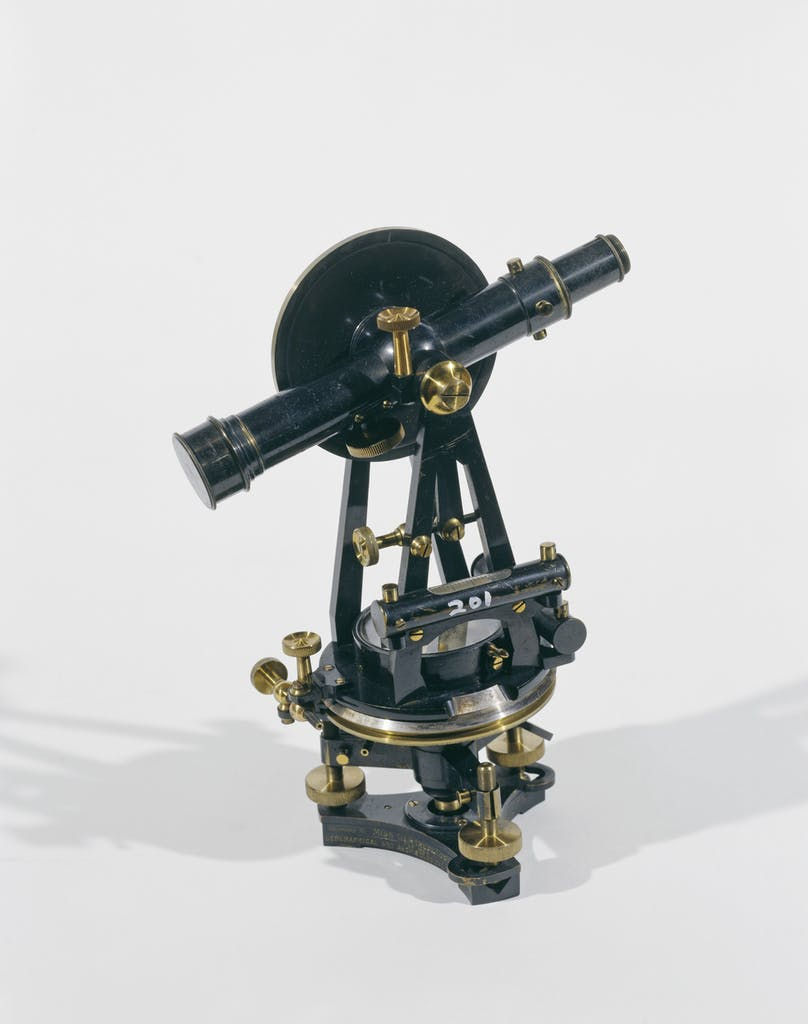 Theodolite that belonged to Gertrude Bell