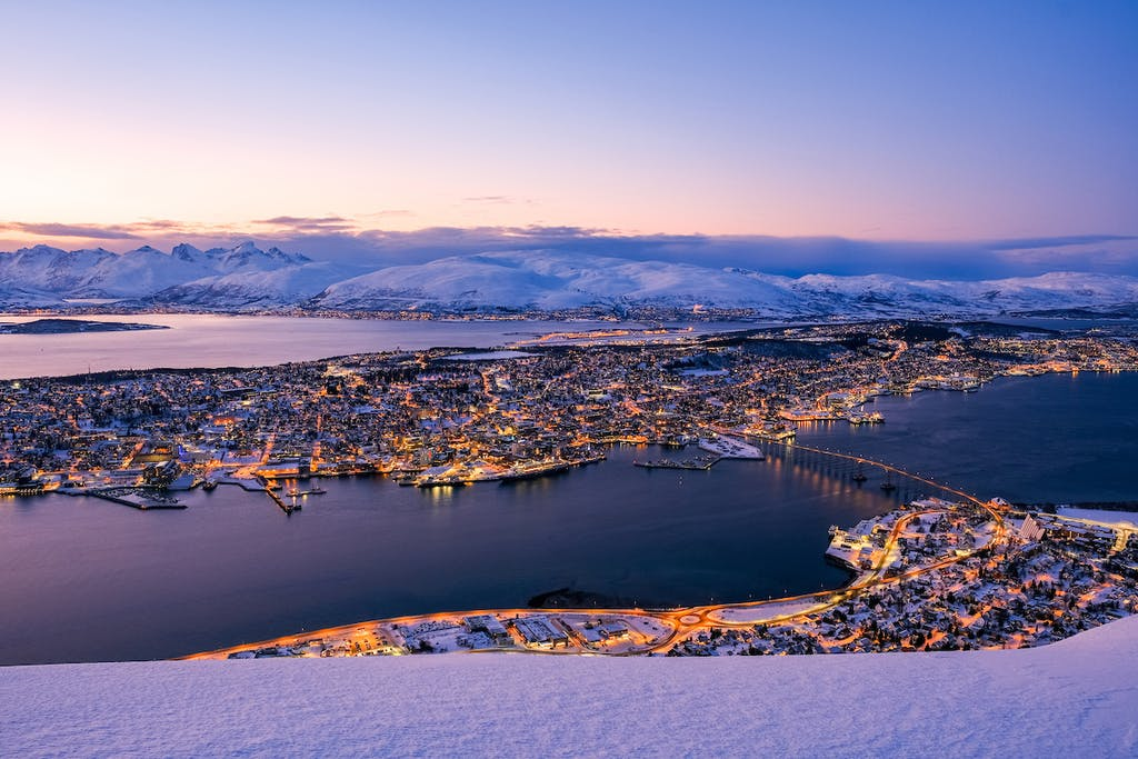 Tromsø, in northern Norway