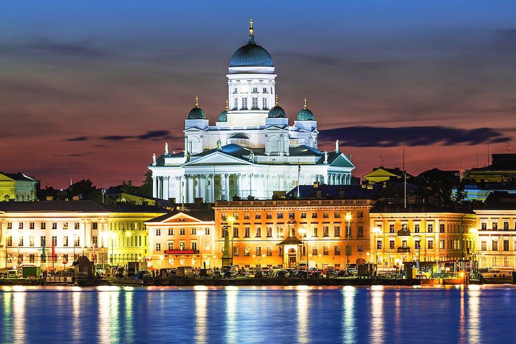 The Finnish capital of Helsinki