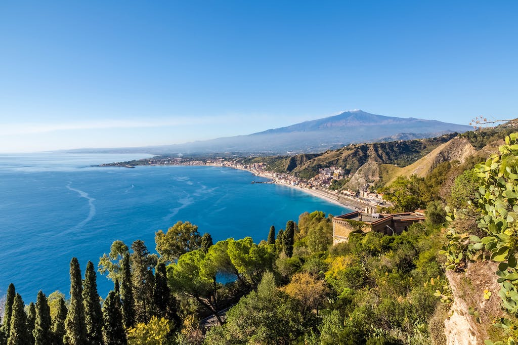Mount Etna in Sicily