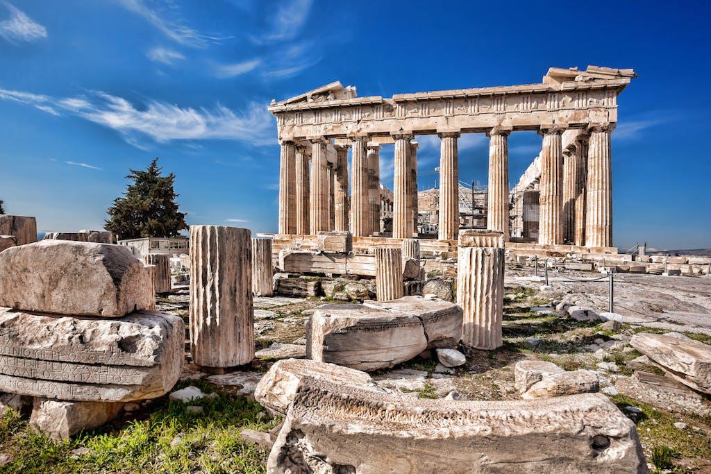 Parthenon Temple of Athens