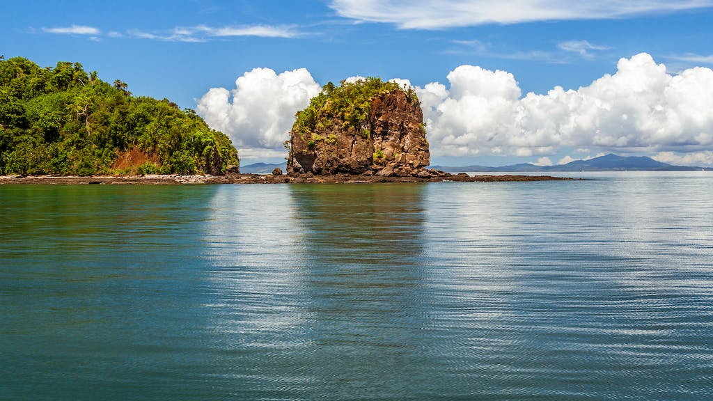 Nosi Tanikely island in Madagascar