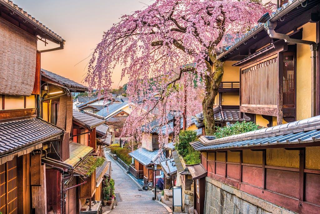 Higashiyma art district in Kyoto