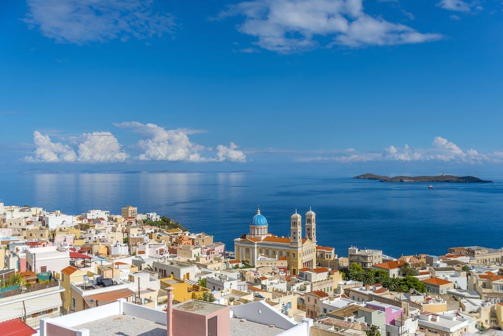 Ermoupoli, the capital of the island of Syros