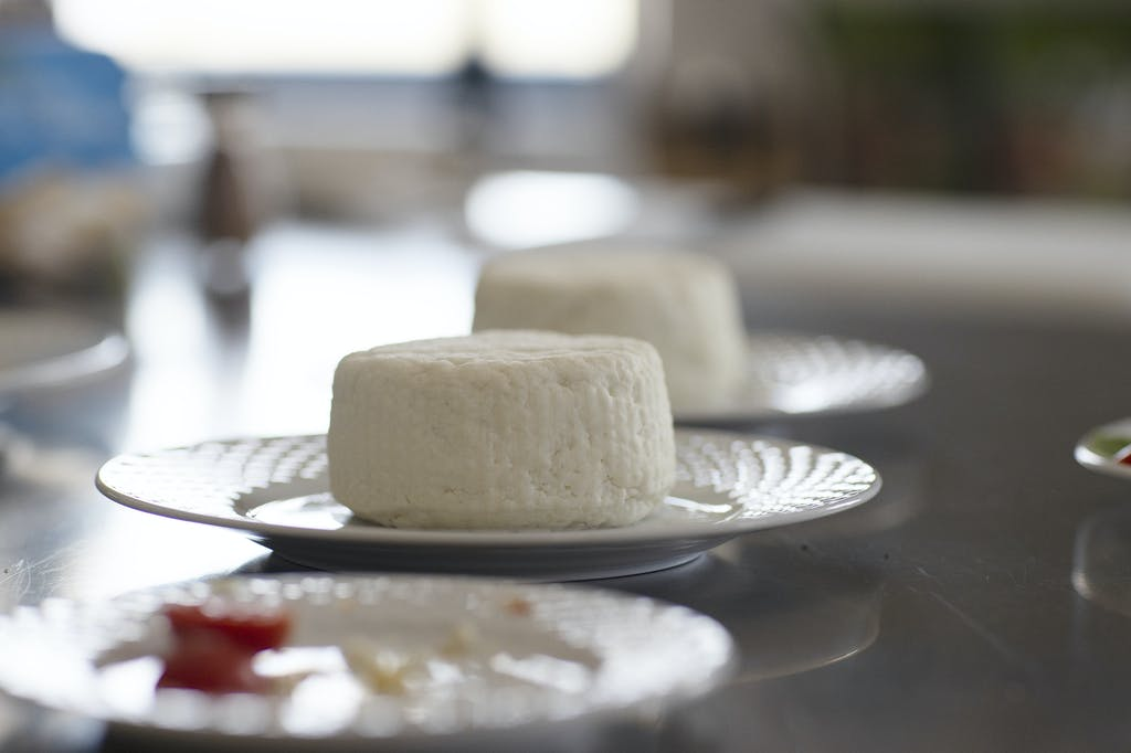 Myzithra cheese in Mykonos