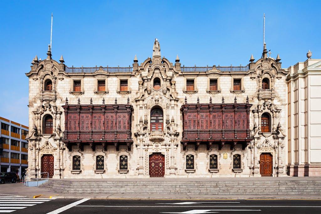 Archbishop Palace, Lima.