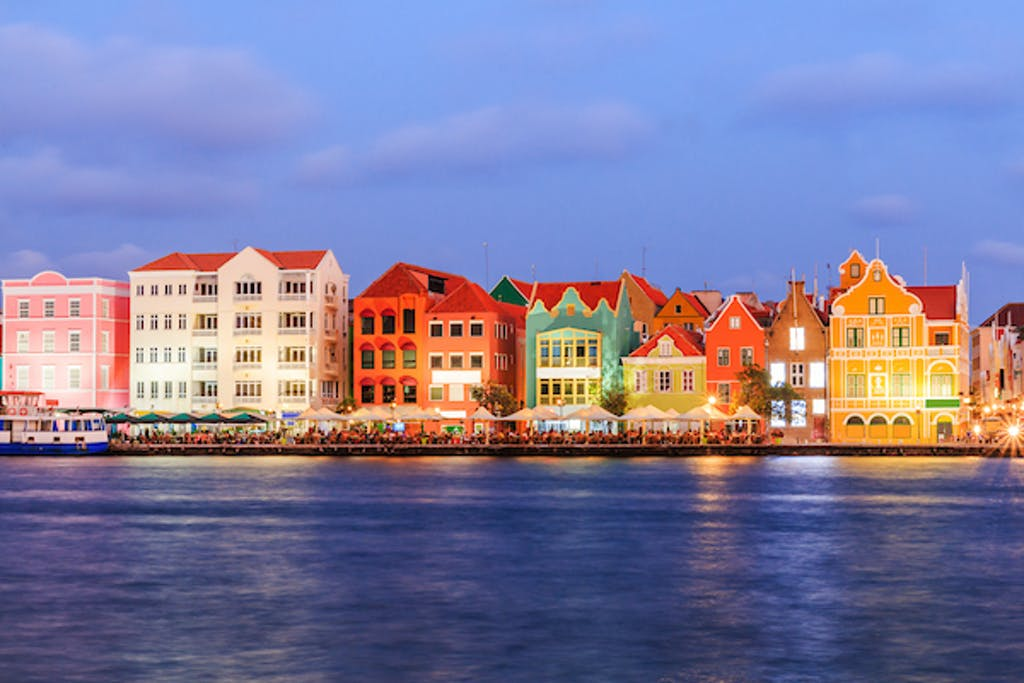 Dutch architecture in Willemstad, Curacao