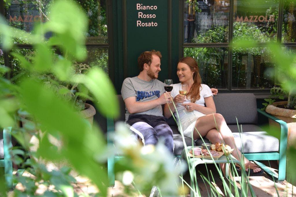 Dining at Tivoli Gardens